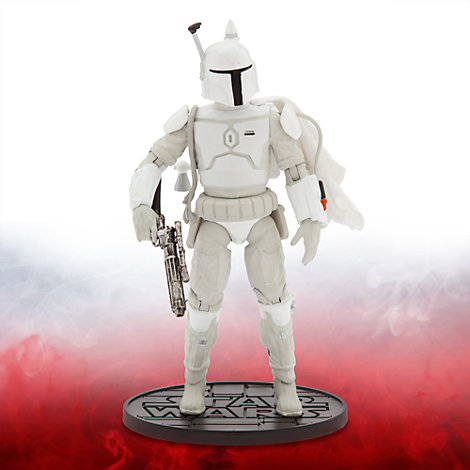 Muñeco a escala serie Elite 16,5 cm, prototipo armadura Boba Fett, Star Wars