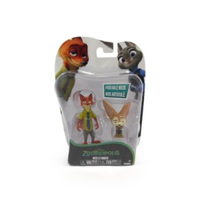 Nick Wilde and Finnick Figures, Zootropolis