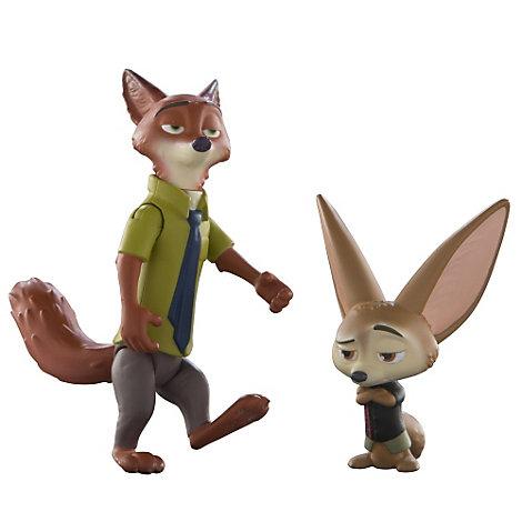 Personaggi Nick Wilde e Finnick, Zootropolis
