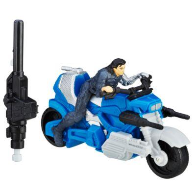 Captain America - Civil War Winter Soldier mit Blast-Actionbike