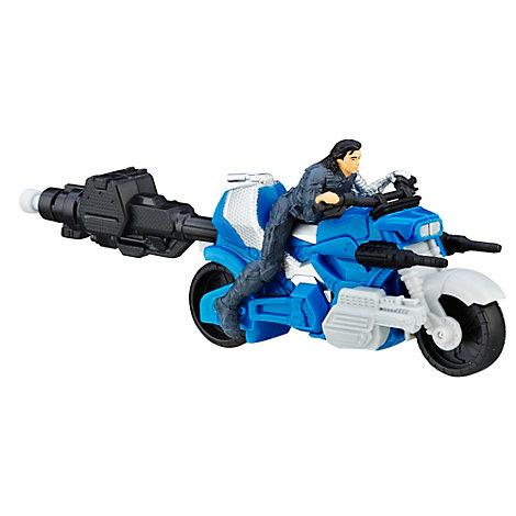 Winter Soldier med motorcykel, Captain America: Civil War