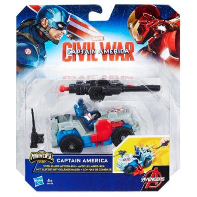 Personaggio Capitan America con 4x4 con fucile lanciatore, Captain America: Civil War