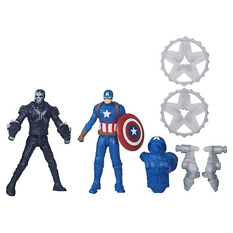 The First Avenger: Civil War - Captain America vs. Marvels Crossbones Figuren