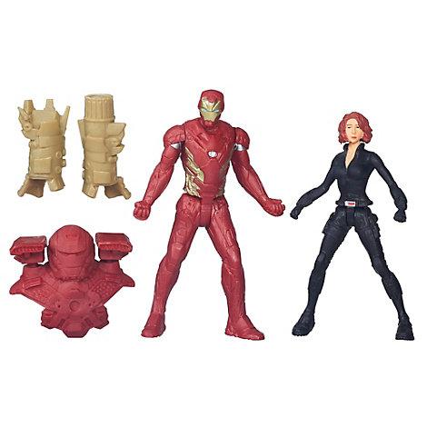 Black Widow og Iron Man figurer, Captain America: Civil War - KOMMER SNART