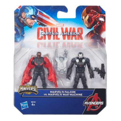 The First Avenger: Civil War - War Machine und Falcon Figuren