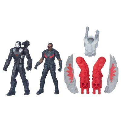 Figuras de Máquina de Guerra y Halcón, Capitán América: Civil War