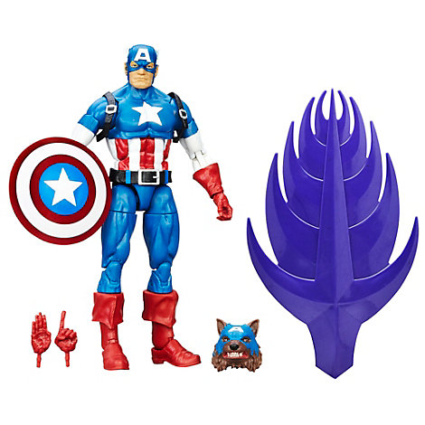 The First Avenger: Civil War - Captain America Legends Figur (ca. 15 cm)