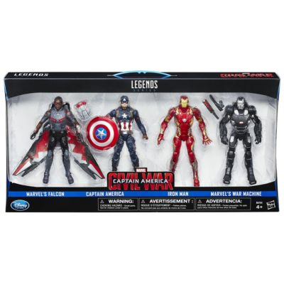 Marvel Legends-serien Captain America: Civil War figurset (4-pack)