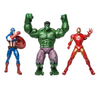 Action figure deluxe Avengers, set idea regalo