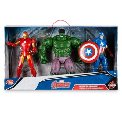 Set regalo muñecos acción Lujo Los Vengadores