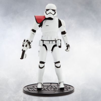 Figurine miniature officier Stormtrooper du Premier Ordre de la série Elite, Star Wars : Le Réveil de la Force