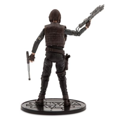 Figurine miniature Jyn Erso de la série Rogue One : A Star Wars Story