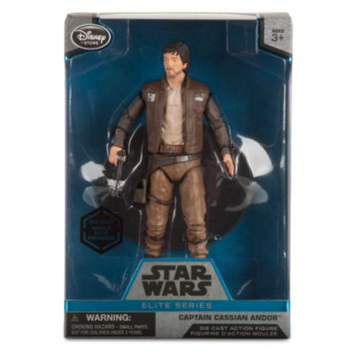 Captain Cassian Andor Elite Series Die-Cast Figure, Rogue One: A Star Wars Story