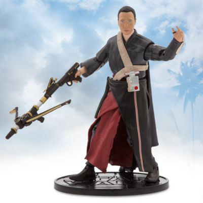 Figurine miniature Chirrut Imwe de la série Elite, Rogue One: A Star Wars Story