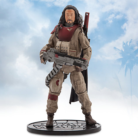 Figurine miniature Baze Malbus de la série Elite, Rogue One: A Star Wars Story