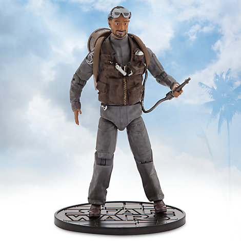 Figura acción Bodhi Rook serie Élite, Rogue One: Una Historia de Star Wars (16, 5 cm)