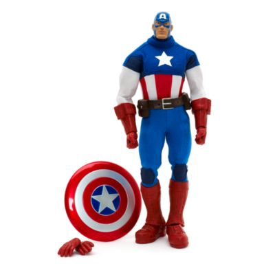 Captain America Premium Action Figure, Marvel Ultimate Series
