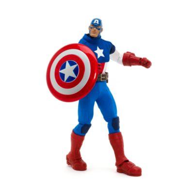 Personaggio snodabile Capitan America qualità Premium, serie Marvel Ultimate