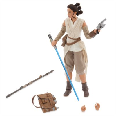 Action figure serie Elite Premium Rey, Star Wars: Il Risveglio della Forza