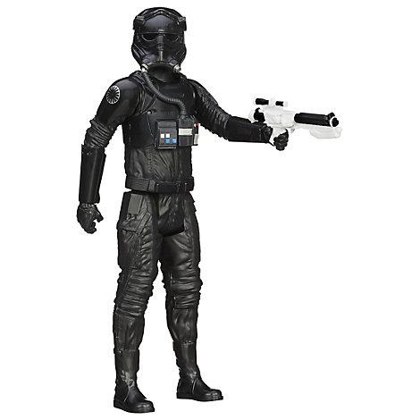 Muñeco de acción 30 cm piloto caza TIE Primera Orden, serie Titan Hero, Star Wars: El despertar de la fuerza