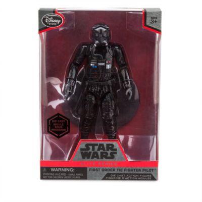 First Order TIE-stridspilot, formgjuten Elite Series-figur, Star Wars