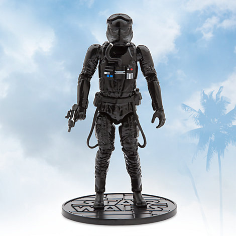 First Order TIE Fighter Pilot Elite Series Die-Cast Figure, Star Wars