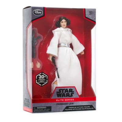 Figura de acción de la Princesa Leia de la serie Élite Premium, Star Wars