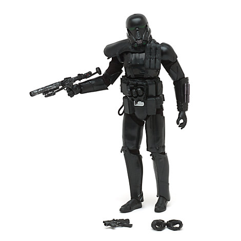 Figurine articulée Death Trooper de Rogue One: A Star Wars Story issue de la série Élite