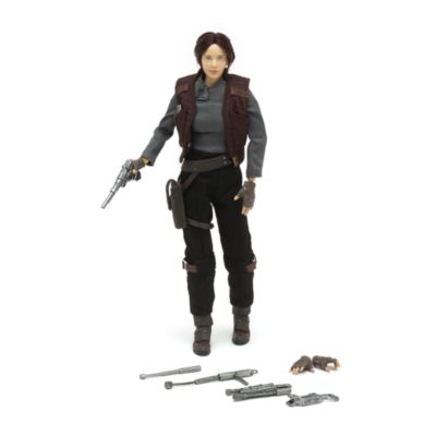 Exklusiv Sergeant Jyn Erso Elite Series-actionfigur, Rogue One: A Star Wars Story