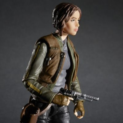 Figura serie Black de Jyn Erso, Rogue One: Una historia de Star Wars