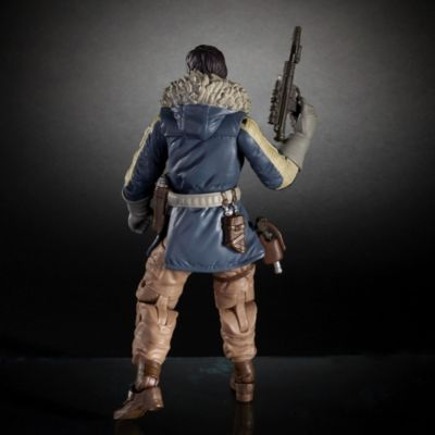 Muñeco Capitán Cassian Andor serie Black 15 cm, Rogue One: Una historia de Star Wars