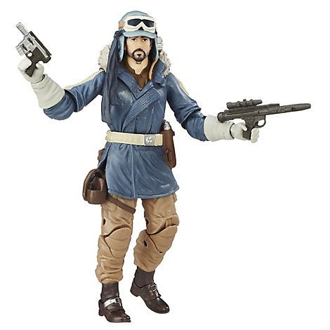Figurine Capitaine Cassian Andor 15 cm de La Série Noire, Rogue One: A Star Wars Story