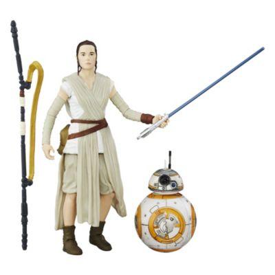 Figurines articulées Rey et BB-8 de La Série Noire, Star Wars : Le Réveil de la Force
