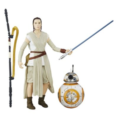Star Wars: Das Erwachen der Macht - Rey und BB-8 Actionfiguren Black Series