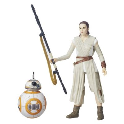 Rey och BB-8 Black Series figurer, Star Wars: The Force Awakens
