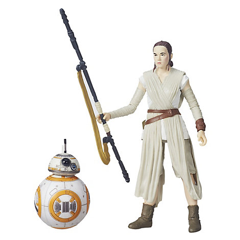 Rey and BB-8 Black Series Figures, Star Wars: The Force Awakens