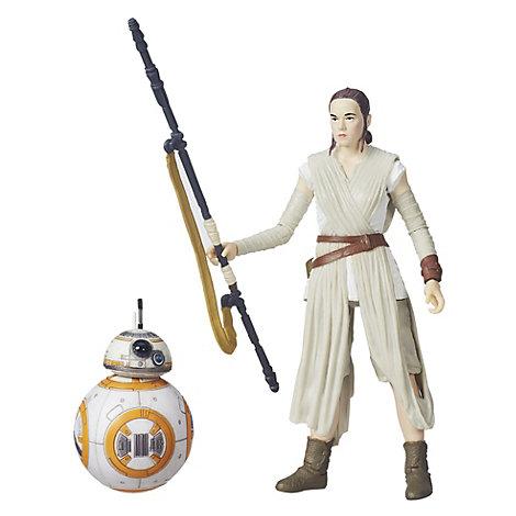 Muñecos Rey y BB-8 serie Black, Star Wars VII: El despertar de la Fuerza