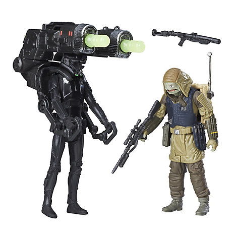 Figurines articulées Death Trooper Impérial et Commando Pao 15 cm, Rogue One: A Star Wars Story