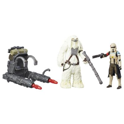Scarif Stormtrooper och Moroff 15 cm actionfigurer, Rogue One: A Star Wars Story