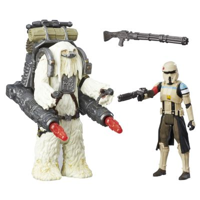 Figurines articulées Stormtrooper Scarif et Moroff 15 cm, Rogue One: A Star Wars Story