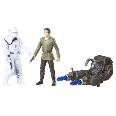 Muñecos acción soldado de las nieves Primera Orden y Poe Dameron 15 cm, Star Wars VII: El despertar de la Fuerza