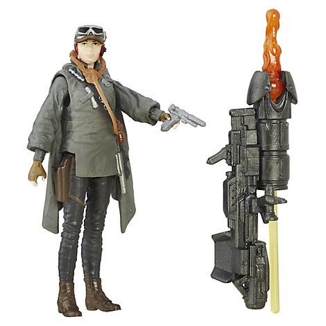 Sergente Jyn Erso action figure 9,5 cm, Rogue One: A Star Wars Story