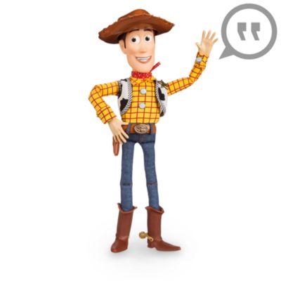 Talande Woody-figur, Toy Story