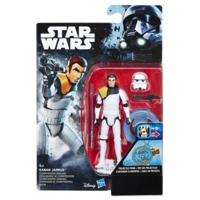 Kanan Jarrus Stormtrooper Disguise 3.75'' Action Figure, Star Wars Rebels