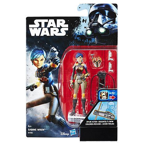Muñeco acción Sabine Wren 9,5 cm, Star Wars Rebels