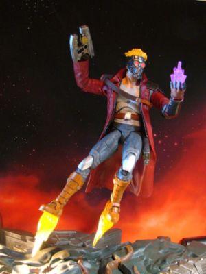 Guardians of the Galaxy - Marvel Select - Actionfigur Star Lord mit zusammensteckbarem Sockel