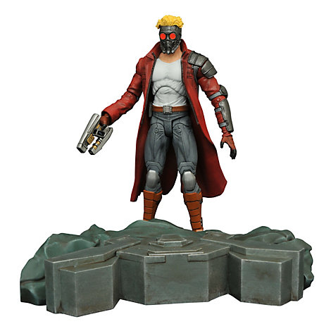 Marvel Select Star-Lord actionfigur fra Guardians of the Galaxy, der kan sammenkobles
