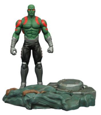 Marvel Select Guardians of the Galaxy Drax actionfigur med sammankopplande plattform