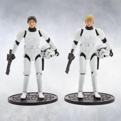 Star Wars 40th Anniversary - Die Cast Figurenset Han Solo und Luke Skywalker als Sturmtruppler