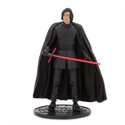 Figura a escala Kylo Ren sin máscara serie Élite, Star Wars: Los últimos Jedi